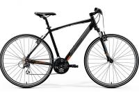 Велосипед Merida Crossway 20-V Lady MattBlack (Orange) 2019 M(51cm)