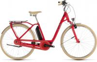 Велосипед CUBE ELLY Cruise HYBRID 400 (red´n´mint) 2019 50cm